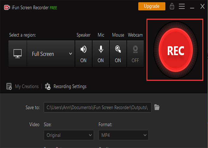 Registrare schermo con iFun Screen Recorder 1080p