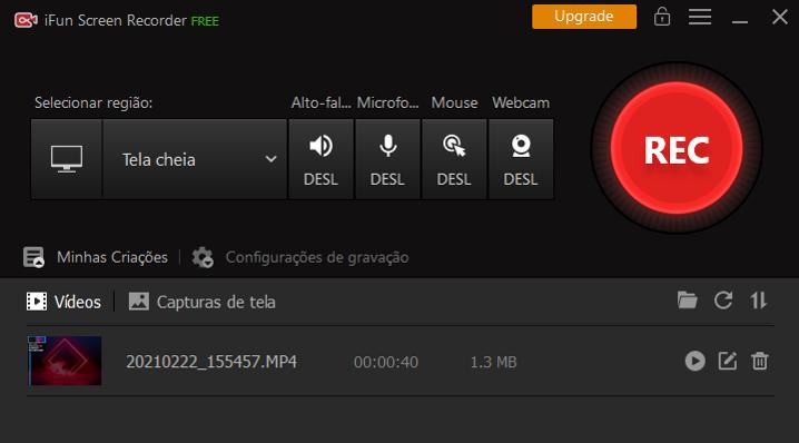 Gravador de Streaming de Vídeo com Áudio - Etapa 3