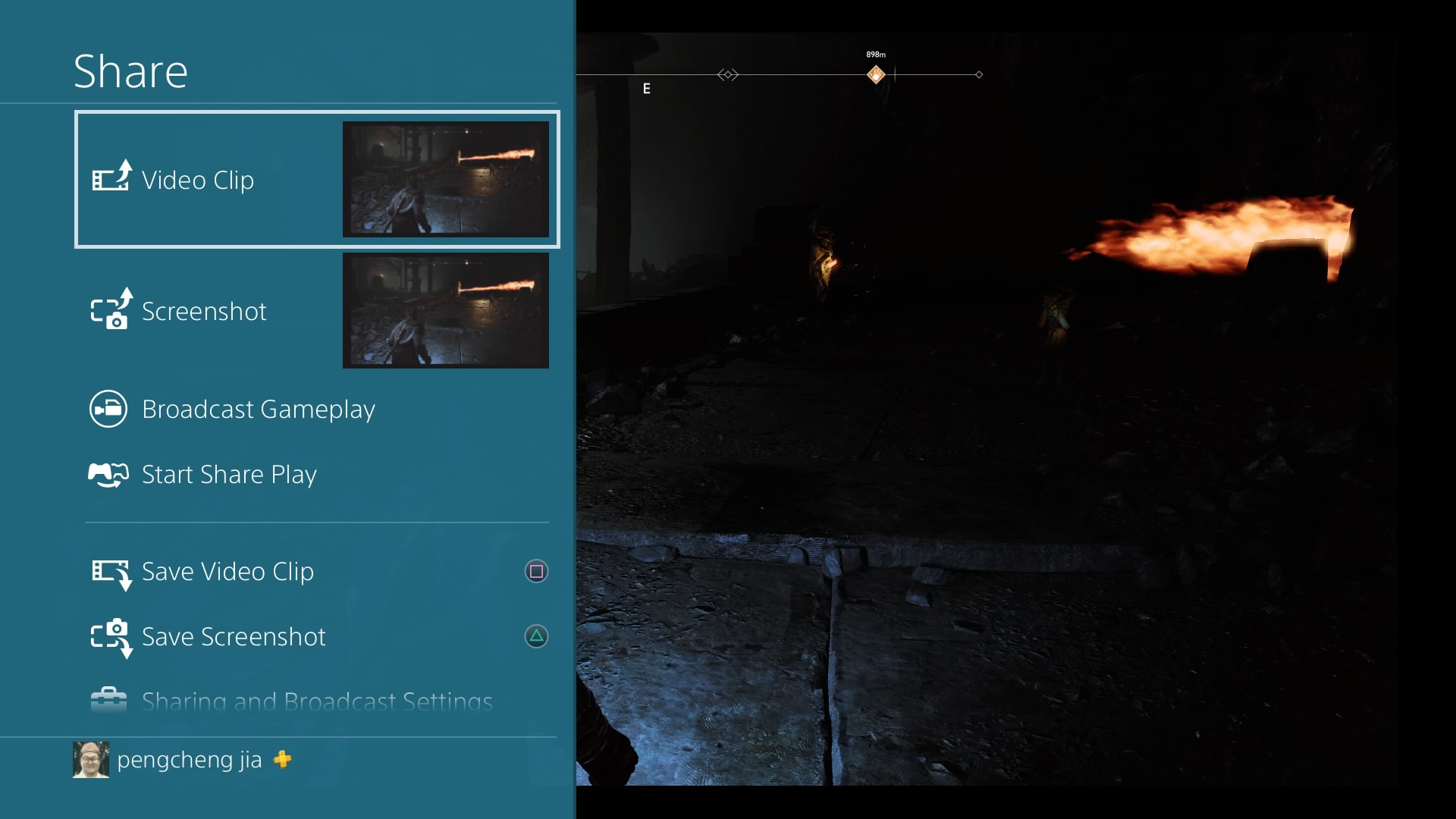 How to Record Gameplay on PS4 - Start Recording