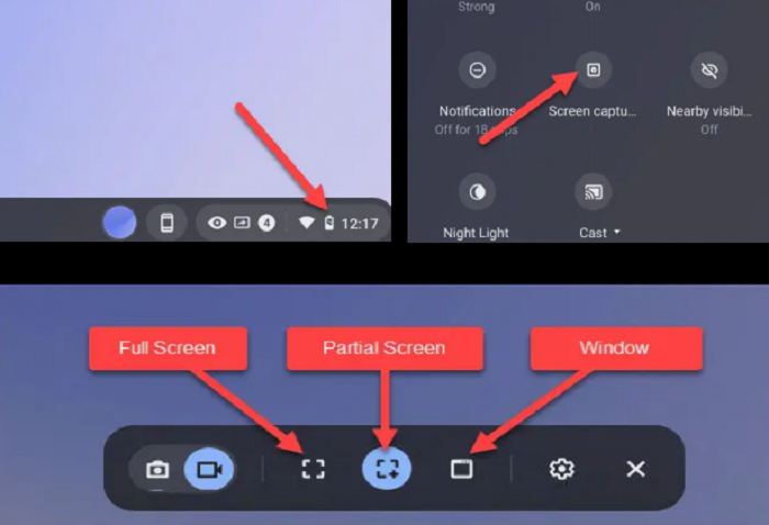 Description: How to Screen Record on Chromebook with Built-in Tools