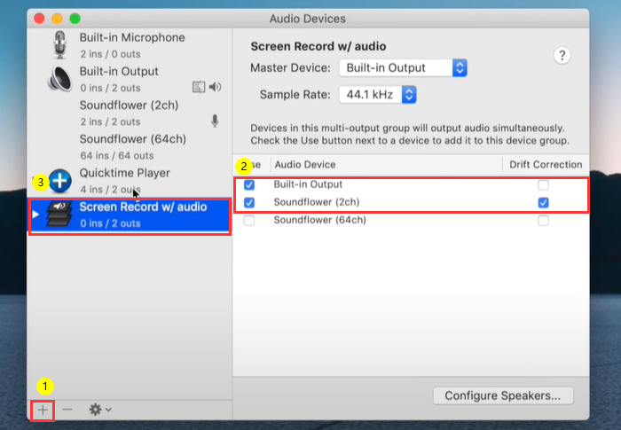 How to Record Your Screen with Sound Mac - Step 3