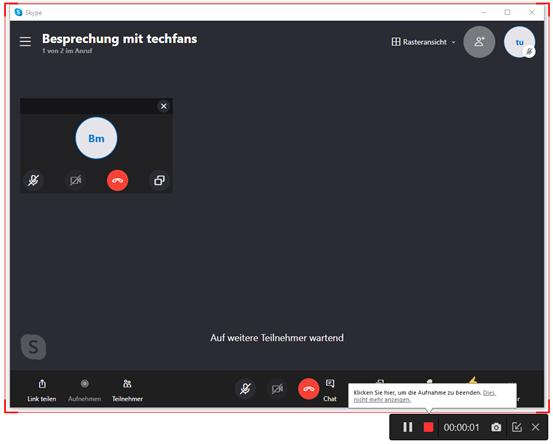 Skype- Videoanrufe