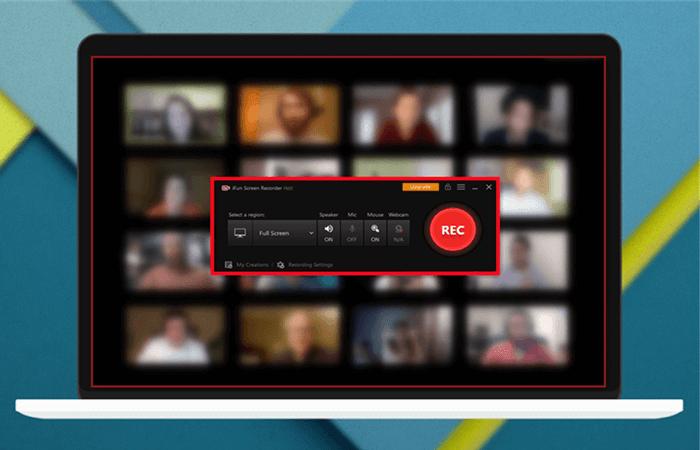 registrazione programmata della riunione con ifun screen recorder