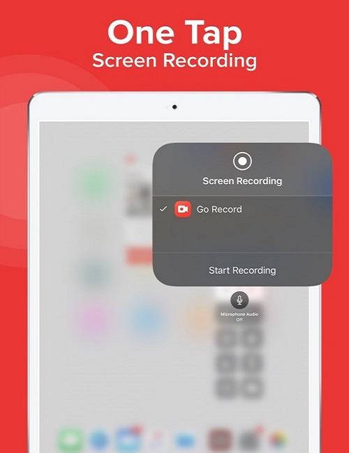 Come registrare facilmente lo schermo su iPhone - Go Record