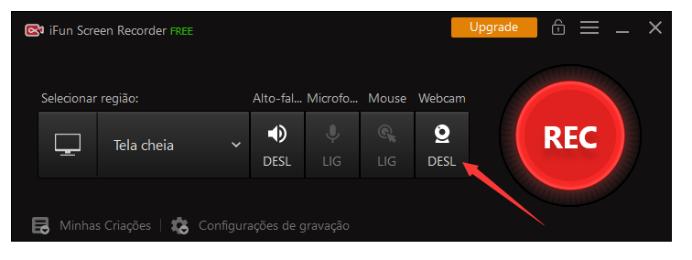 Grave Sua Tela e Rosto Simultaneamente no Windows 10 Usando iFun Screen Recorder