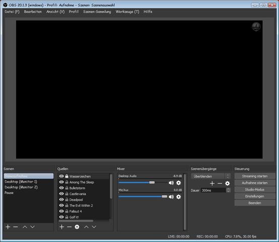 beste Videorecorder-Software