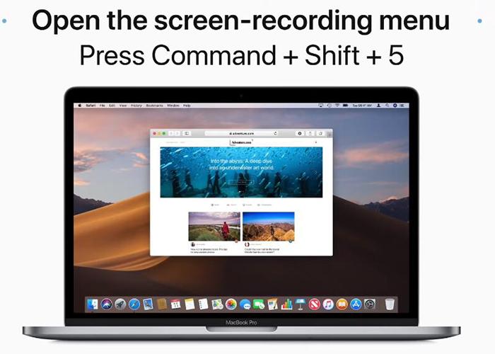 come registrare un webinar su Mac