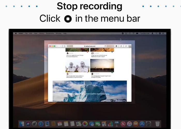 come registrare un webinar su Mac - 3° passo