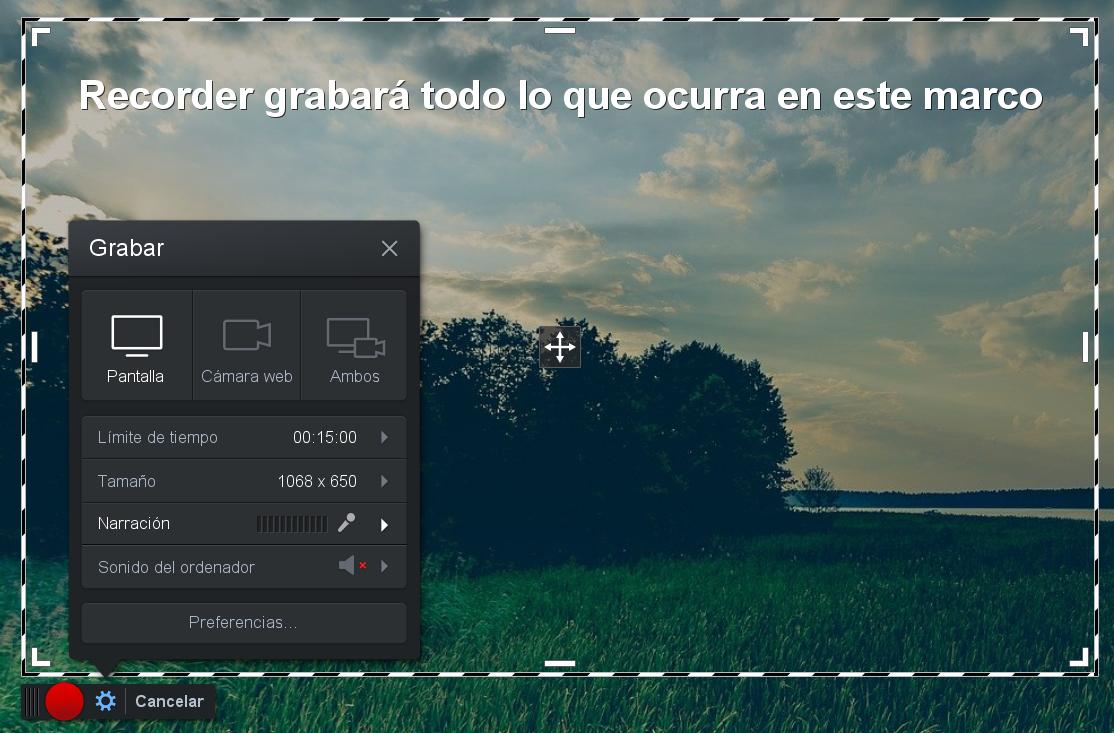 grabar la pantalla con Screencast o Matic