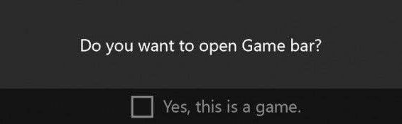 Attiva la barra dei giochi Xbox