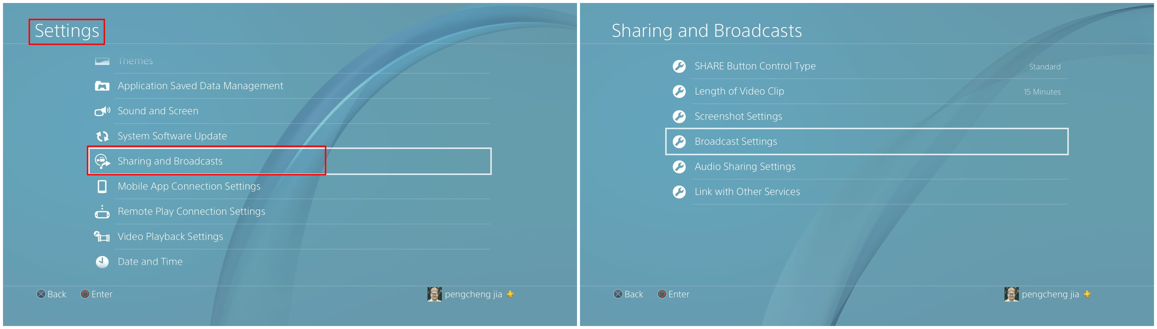 How to Record Gameplay on PS4 - Custom Setting