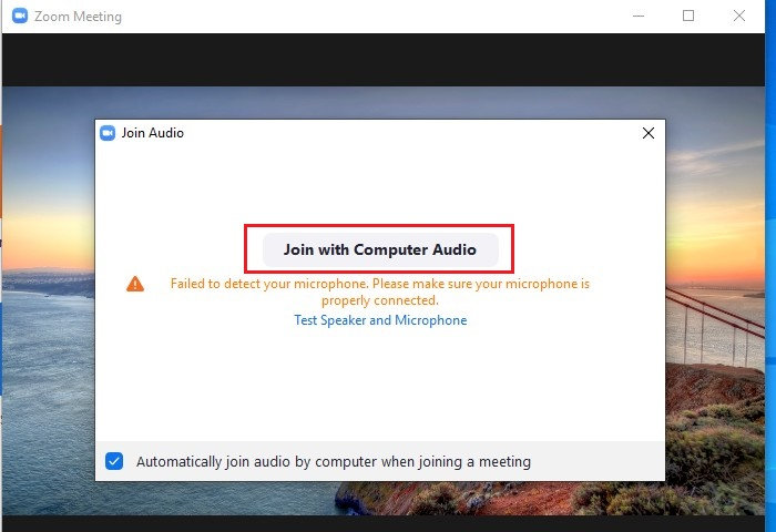 How to Record Your Screen and Yourself Using Zoom - Step 3