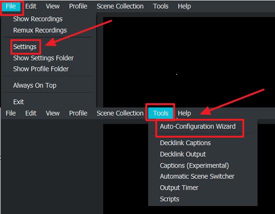 OBS Studio Setting- Screen Recording Tool for Windows