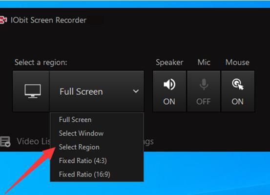 Jak nagrać ekran na komputerze za darmo – funkcja 1