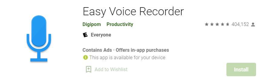 Registrare un Podcast su Android