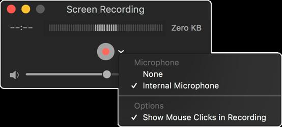 Registrare schermo Mac con QuickTime