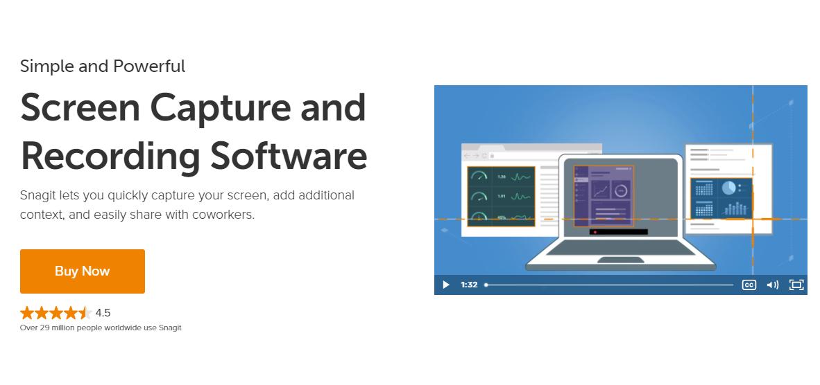 Snagit - Miglior strumento di registrazione e cattura dello schermo