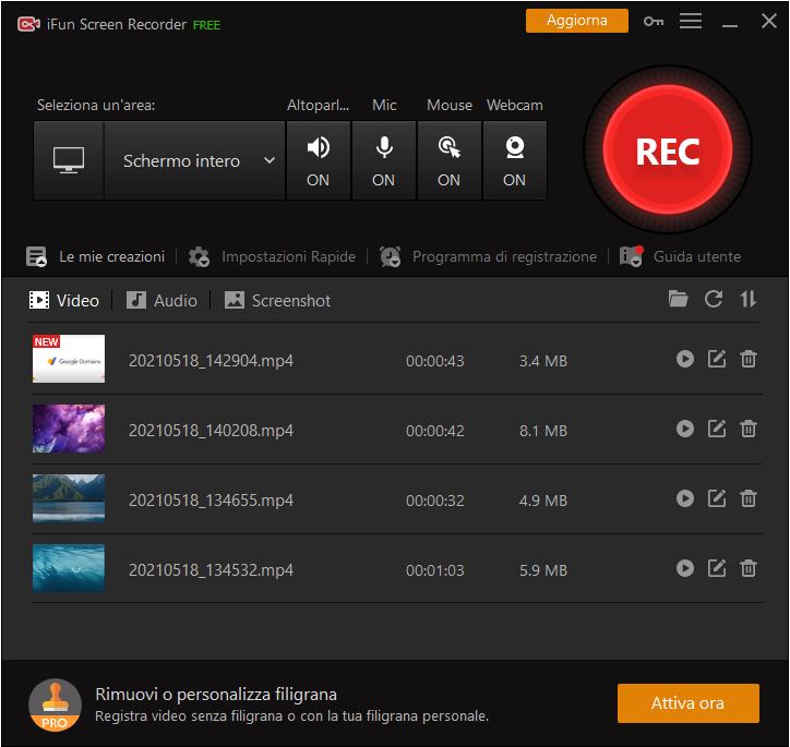 Come registrare Amazon Prime Video con iFun Screen Recorder-Passo 5