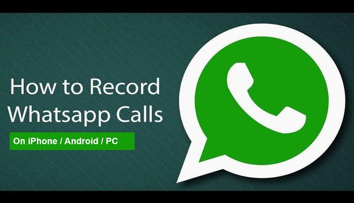 WhatsApp gesprekken opnemen
