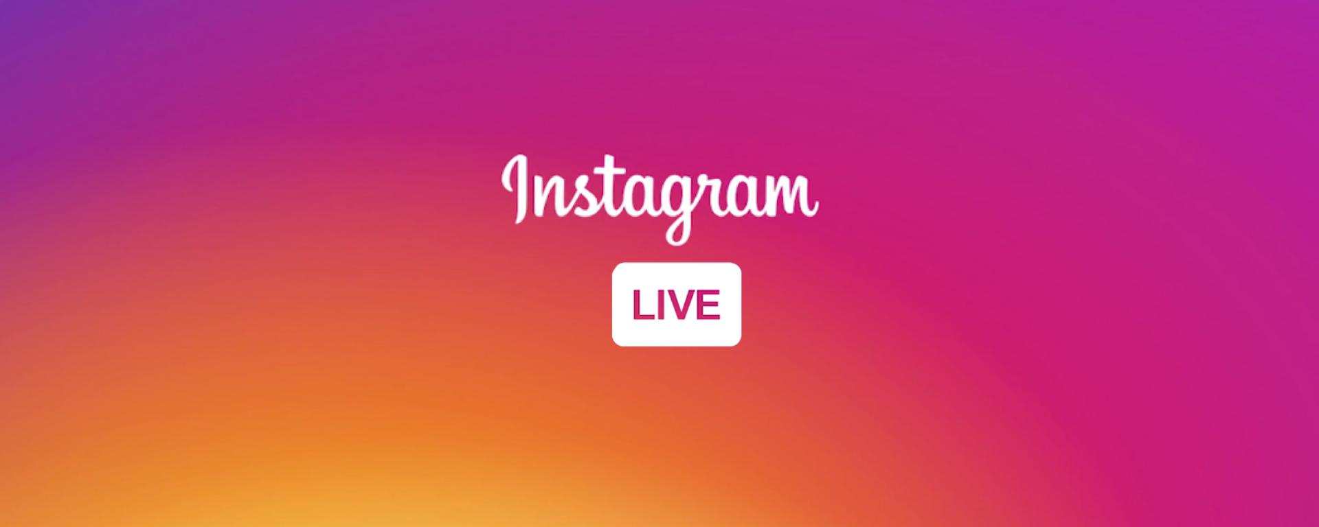 Instagram Live opnemen