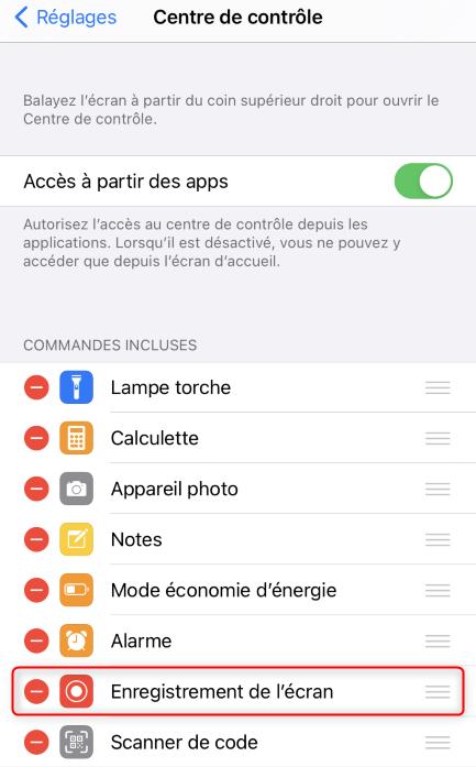 Enregistrer une vidéo WhatsApp sur iPhone