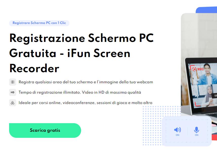 Come registrare Amazon Prime Video con iFun Screen Recorder