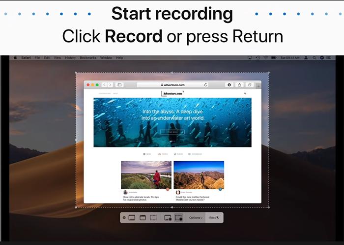 Come registrare Amazon Prime Video su Mac-Passo 3