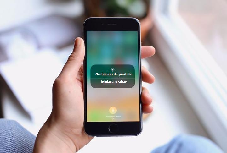 cómo grabar tu pantalla en iPhone
