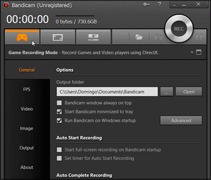 best game recording software bandicam
