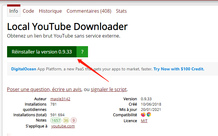 Local YouTube Downloader