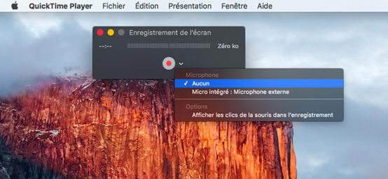 Comment filmer votre écran Mac - QuickTime Player