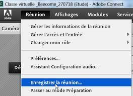Enregistrer Adobe Conenct sur Mac