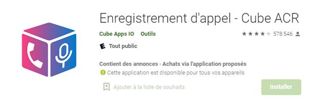 Enregistrer un appel WhatsApp sur Android – Cube ACR