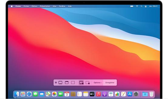 Filmer votre écran Mac