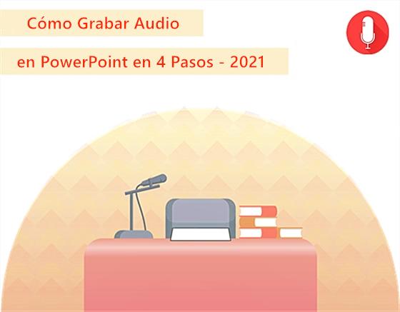 Grabar audio en PPT