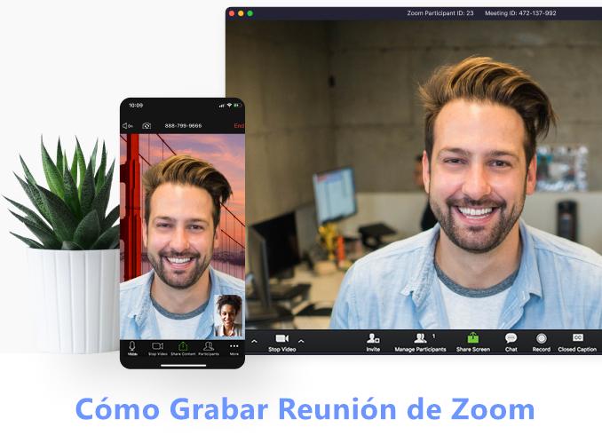 Cómo grabar reunión de Zoom
