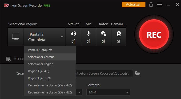 grabar zoom con iFun Screen Recorder 2