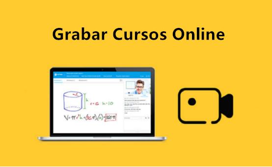grabar cursos en línea