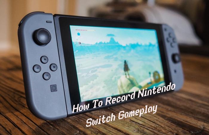 Как записать игру Switch