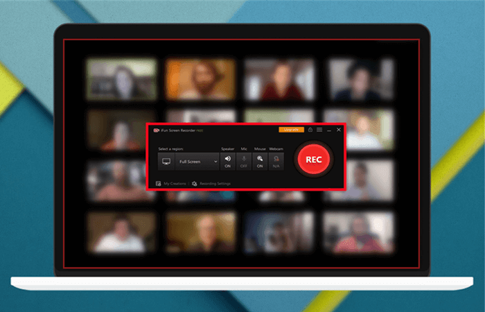 ifun screen recorder scheduled recording  meeting
