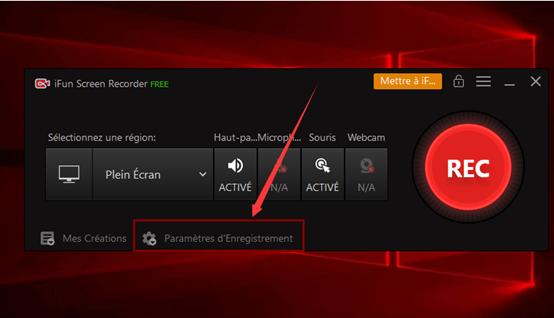 iFun Screen Recorder – l'enregistrement programmé