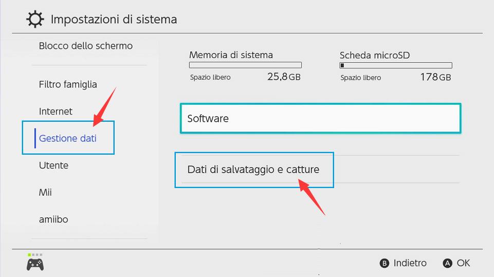 Registrare schermo Nintendo Switch - Video e catture