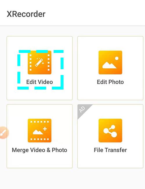 Editer les vidéos enregistrées