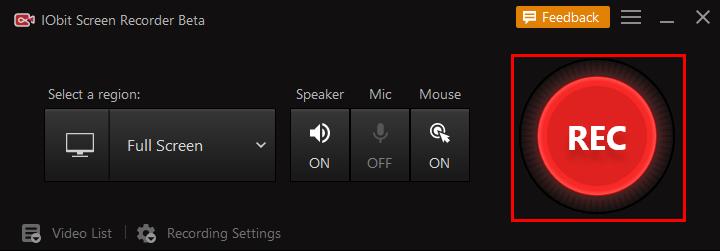 grabar PUBG con iFun Screen Recorder - Paso 2