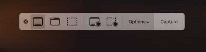 Come registrare lo schermo su Mac - Passaggio 1
