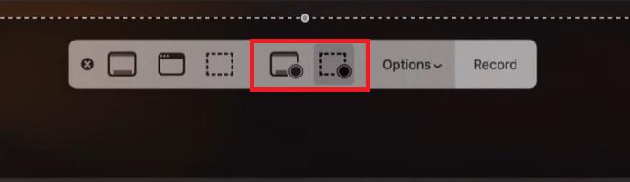 Come registrare lo schermo su Mac - Passaggio 2