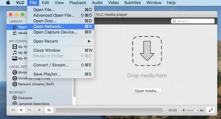 registra il Live Stream di YouTube con VLC