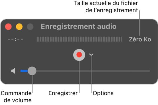 Ouvrir QuickTime Player – enregistrer le son interne sur Mac