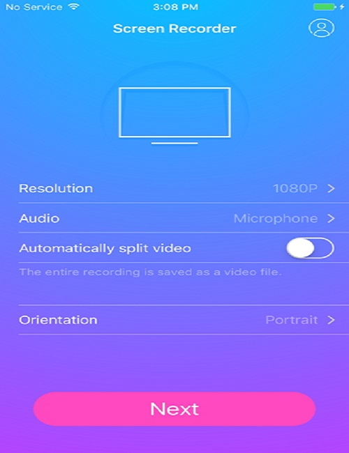 Record Your Screen on iPhone Easily - Start Recording