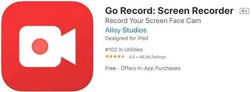 Go Record - это универсальный и бесплатный экранный рекордер для iPhone с функцией включения фронтальной камеры и возможностью редактирования. Оно позволяет вам использовать микрофон для добавления звуковых комментариев для тонкой настройки ваших экранных записей наряду с другими полноценными наборами редактирования. Вы можете легко записывать игры, приложения, фильмы и другие материалы, а также экспортировать свое видео в библиотеку фотографий или делиться им на YouTube.